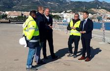 Ports invierte 548.000 euros en la mejora del muelle comercial del puerto de la Ràpita
