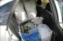 Investiguen dues persones pel robatori de 300 quilos garrofes a Valls