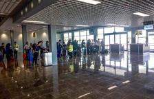 L'Aeroport de Reus posa en servei part de l'ampliació de la terminal