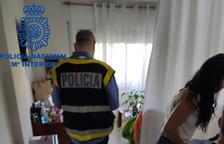 Nueve detenidos en Calafell implicados en una red de explotación sexual