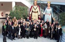 L'Ajuntament de Cambrils homenatja als matrimonis que celebren les Noces d'Or