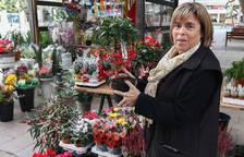 «Yo soy florista desde antes de nacer, porque la abuela y la madre ya lo eran»