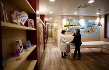 El Hospital Infantil Vall d'Hebron abre la sala familiar mayor de Europa