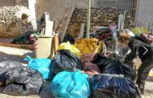 Al Camp Residu Zero recull més de 600 quilos de brossa de la zona verda propera al Campus Catalunya