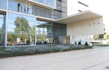 Imagen de archivo del edificio del Palau de Justícia de Girona.