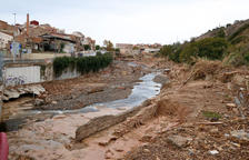 Sense ajudes a l'Espluga de Francolí sis mesos després del temporal