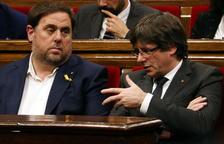 Puigdemont reclama la «llibertat immediata» de Junqueras després de la sentència del TJUE