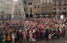 Más de 1.300 niños participan en la Gran Nadala de Reus