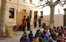 Un espectáculo de la compañía Traüt acerca el Asedio de Cambrils al alumnado de primaria