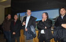 L'alcalde Pau Ricomà inaugura l'exposició del pessebre i diorames