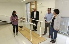 L'alcalde, Carles Pellicer, i la regidora de Benestar, Montserrat Vilella, van visitar l'edifici.