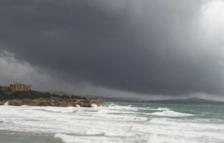 Imagen del cielo tapado en Tarragona