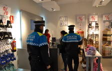 Imatge d'una patrulla de la Guàrdia Urbana a Reus