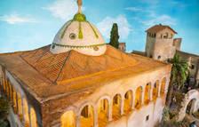 El diorama de Monnars recrea la cúpula de Mas Sorder con cáscara de huevo