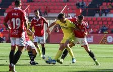 Los jugadores grana presionaron a los rivales intensamente durante los 90 minutos.