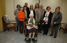 Homenaje a Ezequiela Roset, enfermera del antiguo Hospital de Sangre de Valls