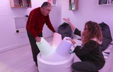 El centre Villablanca de Reus estrena un innovador element interactiu i terapèutic