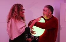 Usuaris de Villablanca estrenen sala multisensorial per pal·liar les alteracions de conducta
