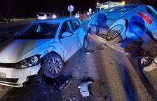 Un conductor provoca dos accidents la mateixa tarda a Calafell