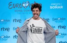 El cantant Miki Núñez va participar en el festival d'Eurovisió amb 'La Venda'.