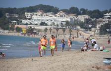 Les platges de Torredembarra han registrat vora dos milios d'usuaris
