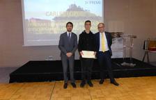 Un estudiant de Reus guanya el primer premi de Treballs de Recerca de Geologia i Ciències de la Terra