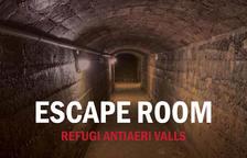 L'antic Refugi Antiaeri de la Plaça del Blat de Vass es convertirà en un 'Escape Room'