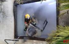 Dues persones ferides amb cremades a braços i mans en un incendi a un bar de Vila-seca