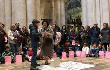 Unos 50 niños de Tarragona a la 5.ª edición de 'Los abuelos enseñan la catedral a los nietos'