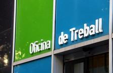 Imatge d'un rètol d'una oficia del SOC a Catalunya.