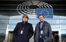 El Suprem envia a Sassoli la petició de suspensió de la immunitat de Puigdemont i Comín