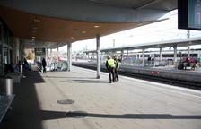 Suspendida la circulación ferroviaria que sale de Tarragona en dirección sur