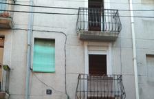 Una dona ferida en l'esfondrament de part del fals sostre d'un habitatge de Reus
