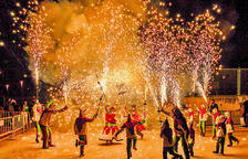 Pasacalle, correfoc y música en la Festa Major de Sant Sebastià de Constantí
