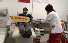 Més de 3.500 persones han donat sang des de divendres a la Marató de Donants
