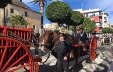 Cambrils rememora el seu passat agrícola amb la tradicional festa de Sant Antoni