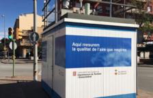 Utilizan una imagen de Sabadell para decir que la calidad del aire de Tarragona es buena