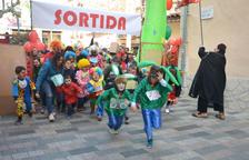 Vila-seca celebra un año más la carrera de payasos de la fiesta mayor