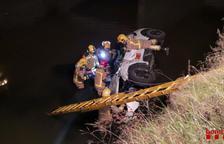 Imatge de l'accident d'aquesta matinada