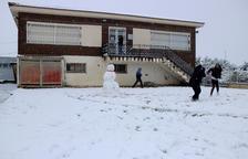 Important nevada al massís dels Ports i a Horta de Sant Joan