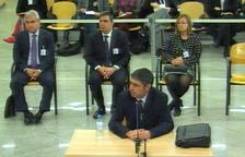 Segunda jornada del juicio contra la excúpula de los Mossos con el mayor Josep Lluís Trapero declarando este 21 de enero del 2020.
