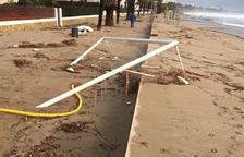 El Ayuntamiento de Mont-roig evalua los efectos del temporal en el municipio