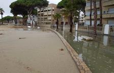 La Policia Local de Cambrils atén un total de 87 incidències pel temporal