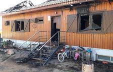 El Govern de l'Albiol exonera de pagar llicència d'obres a la família de Masies que va perdre la casa per un incendi