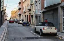 El Camí de Valls ampliarà les voreres i elimina les places d'aparcament