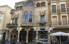 Comencen les obres de reconstrucció del capcer de la Casa Navàs