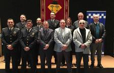 L'Ajuntament de Vandellòs i l'Hospitalet de l'Infant reconeix a 9 policies locals per la seva permanència en el cos