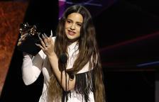 Rosalía gana el Grammy a mejor disco latino de rock, urbano o alternativo por 'El mal querer'
