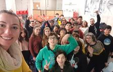 Els i les Corresponsals Joves de Cambrils celebren la primera trobada de l'any