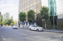 Dos taxistes agredits amb arma blanca la matinada de diumenge